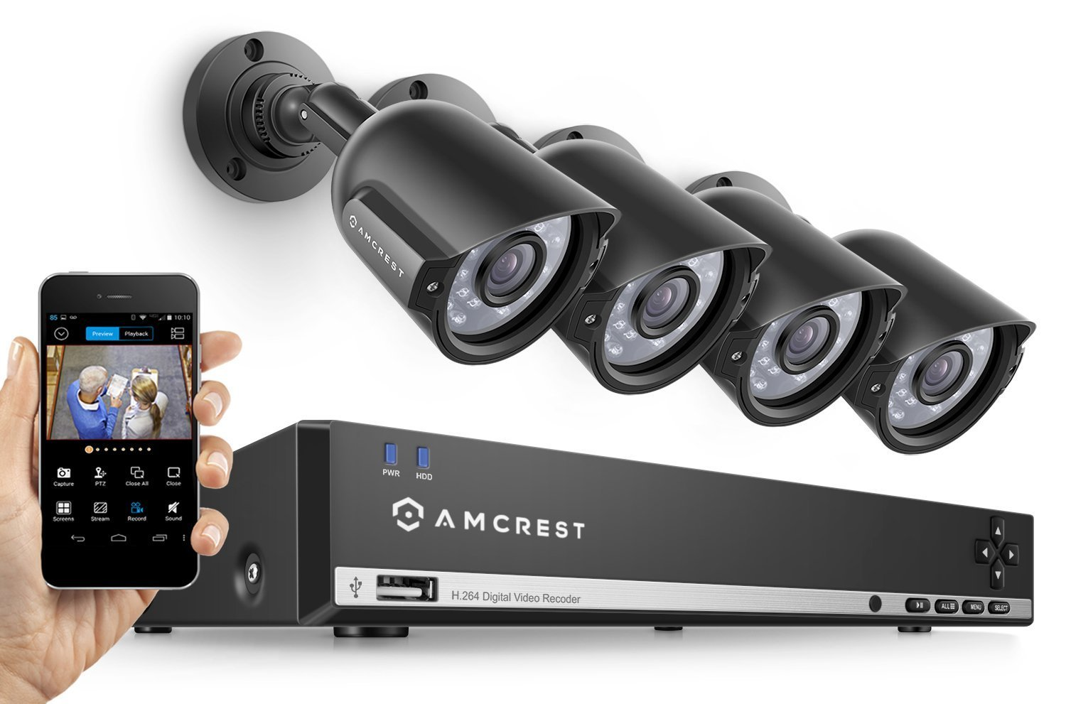 Amcrest 960h 8ch Security System Review U Spy Gear
