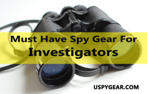 How to Make Your Personal Spy Gear in the Home